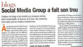 Social media group stratégie